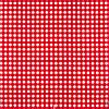 Декоративная ткань в мелкую клетку красно-белая Турция 180 см 84578v32, фото 2