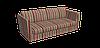 Декоративная ткань в полоску розово-зеленого цвета 180 см 84610v6, фото 3