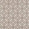 Декоративная ткань серые круги с узорами на бежевом фоне Турция 84590v30, фото 2
