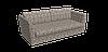 Декоративная ткань серые круги с узорами на бежевом фоне Турция 84590v30, фото 3