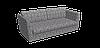 Декоративная ткань серые круги с узорами на пепельном фоне Турция 84589v29, фото 3