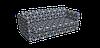 Декоративная ткань белые круги с узорами на синем фоне Турция 84588v28, фото 3