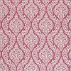 Декоративная ткань белые узоры на розовом фоне Турция 84584v4, фото 2