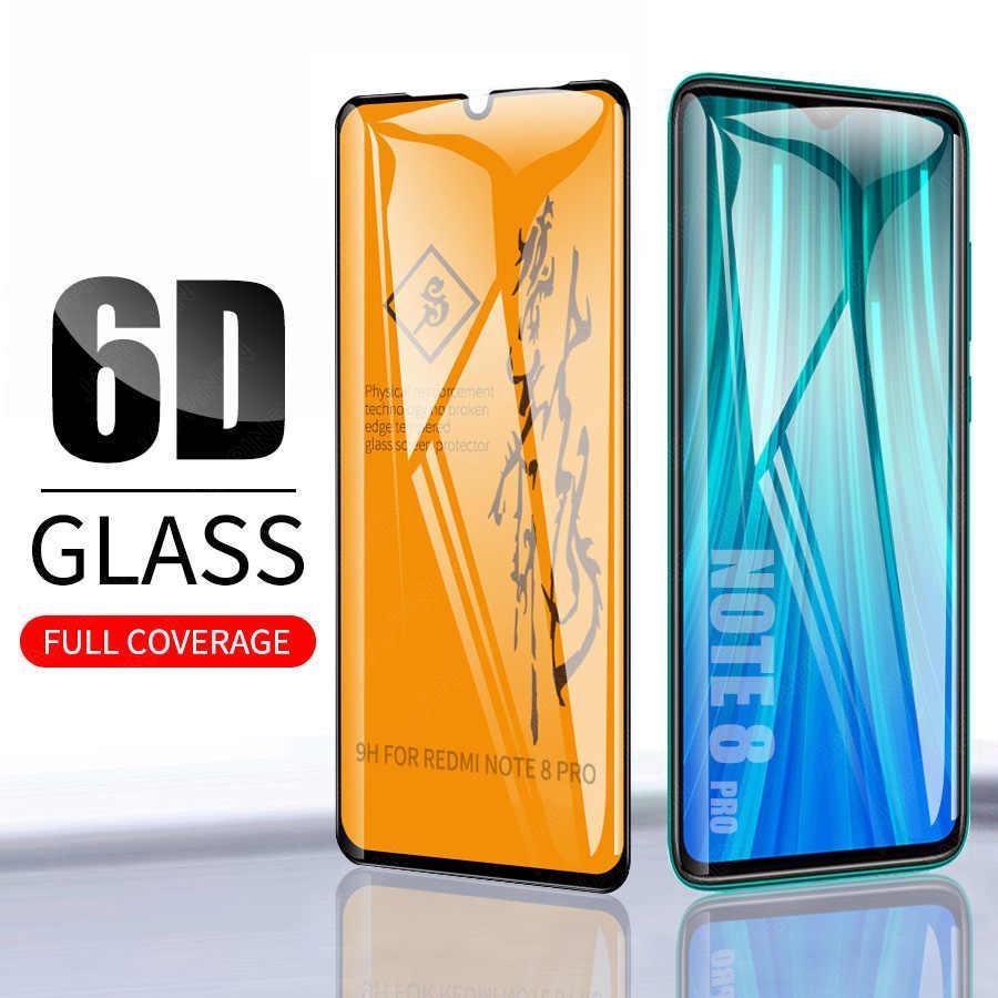 Защитное стекло 6D Xiaomi Redmi Note 8 Pro полная проклейка 9H захисне скло ксиоми
