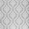Декоративная ткань белые узоры на сером фоне Турция 84583v3, фото 2