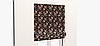 Декоративная ткань оранжевые и бордовые цветы на черном 180см 84497v1, фото 8