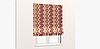 Декоративная ткань пэчворк бордового и оранжевого цвета 180см 84495v2, фото 5
