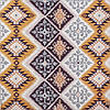 Декоративная ткань пэчворк желтого и бежевого цвета Турция 84493v1, фото 2
