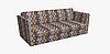 Декоративная ткань пэчворк желтого и бежевого цвета Турция 84493v1, фото 4