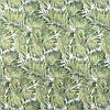 Декоративная ткань зеленые пальмовые листья на белом Турция 84492v2, фото 2