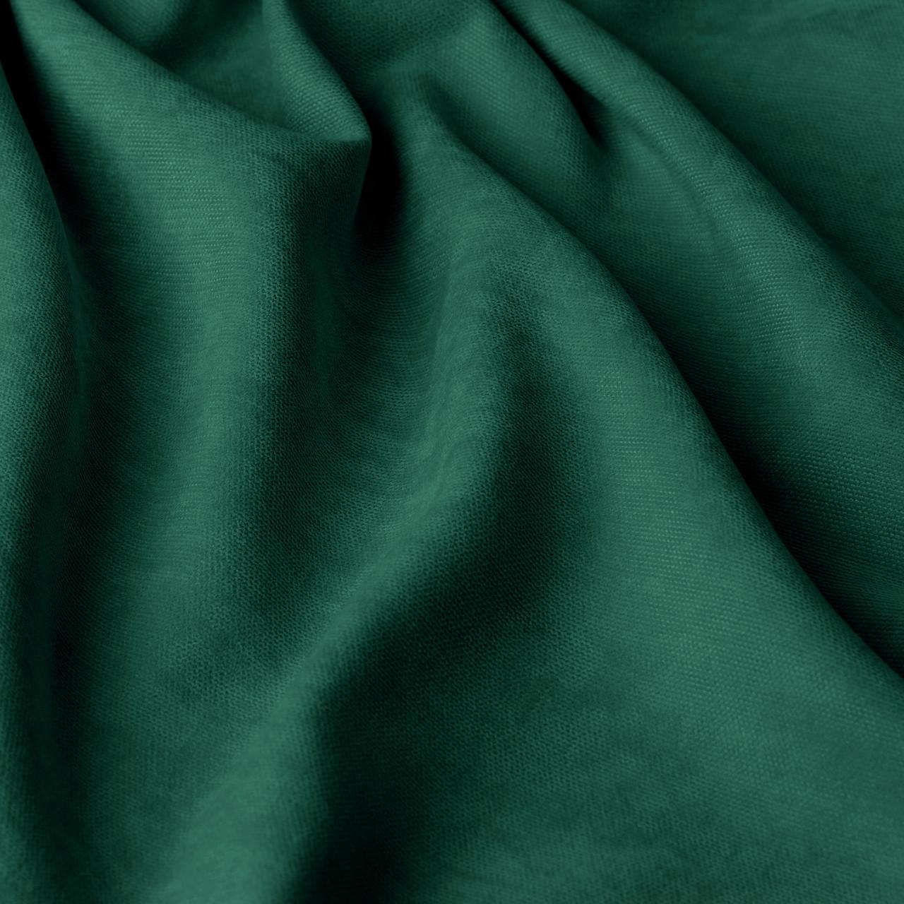 Однотонная декоративная ткань велюр зеленого цвета Турция 84440v50