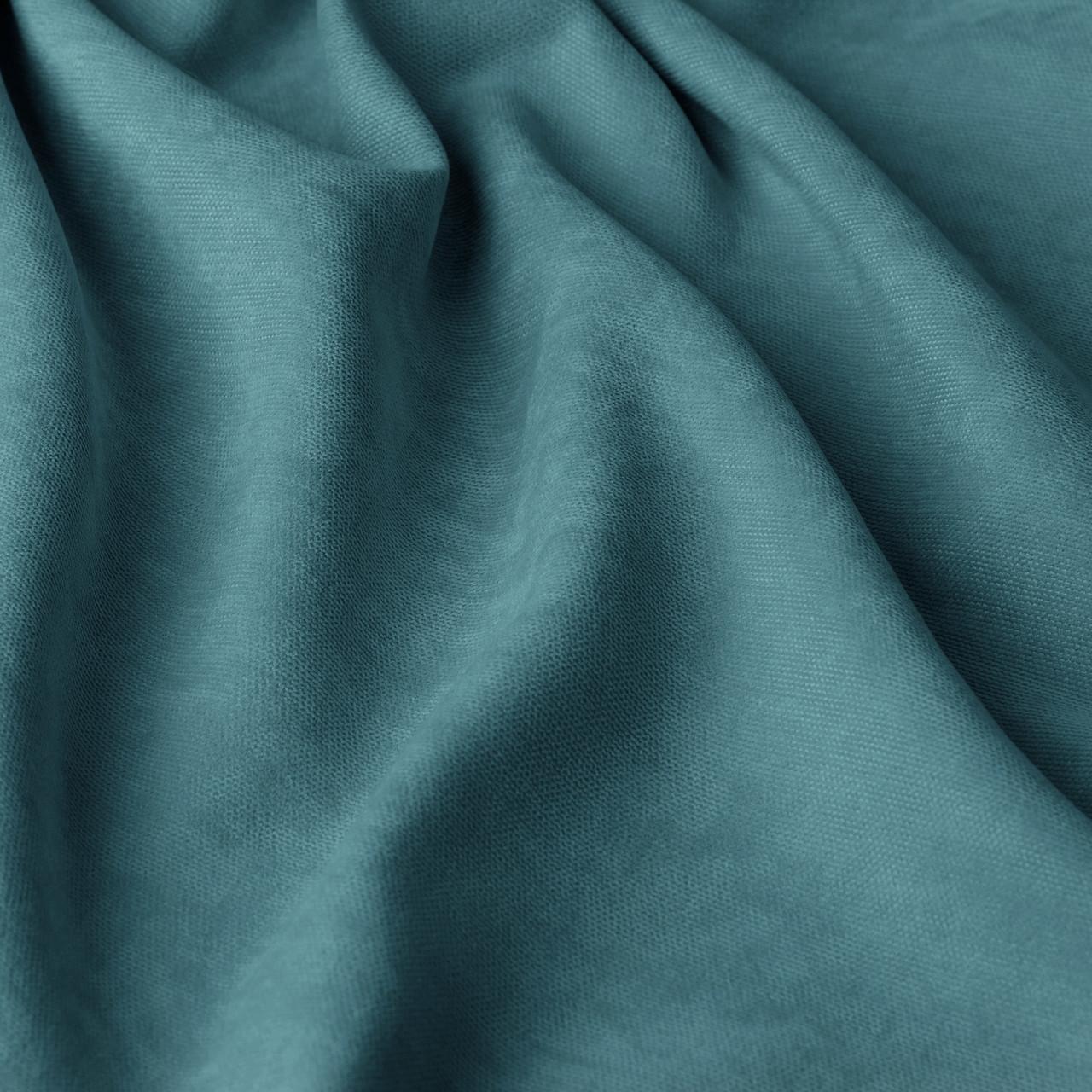 Однотонная декоративная ткань велюр голубого цвета 295см 84438v48