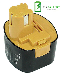 Аккумулятор для шуруповерта Panasonic EY9065 3000 mAh 9,6 V черный