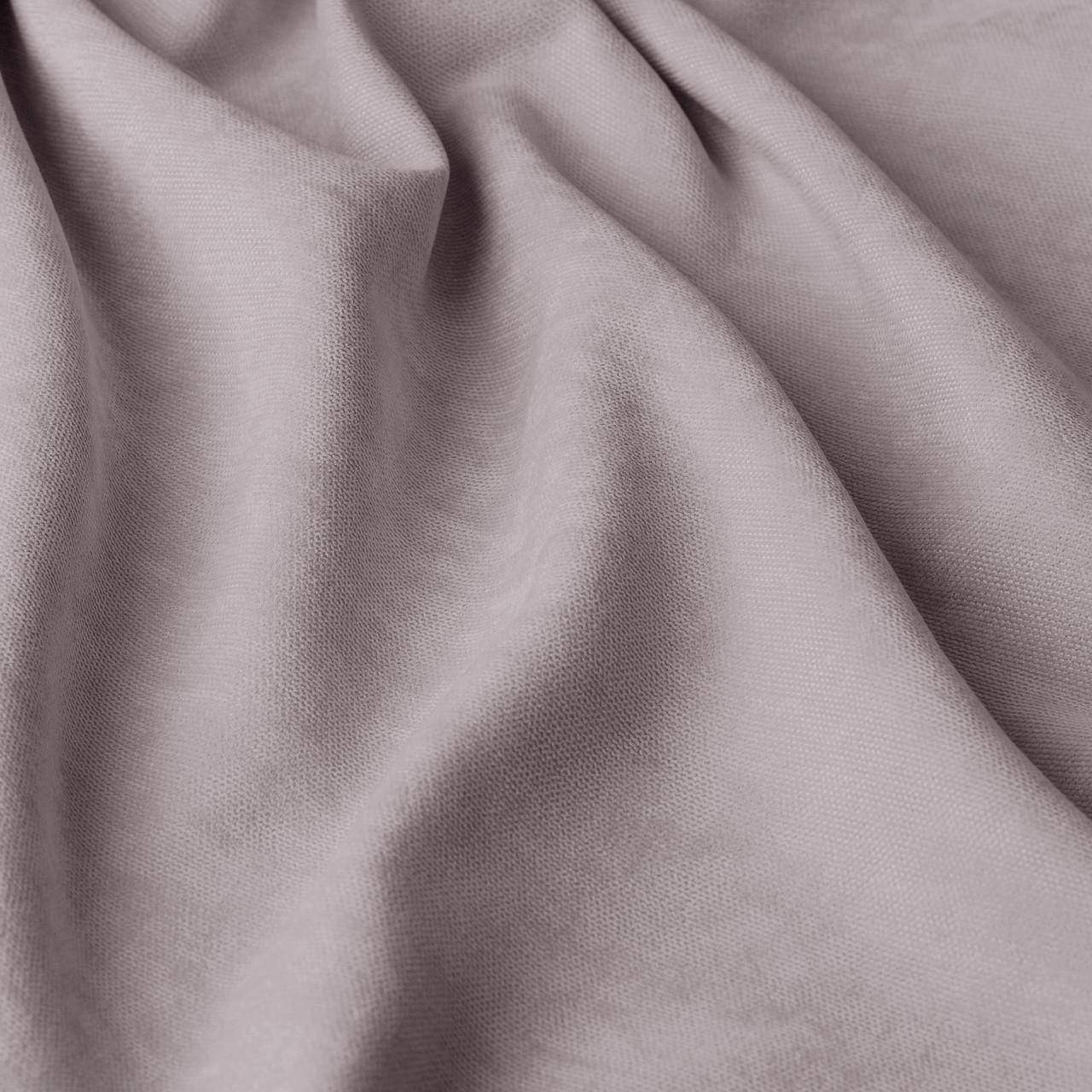 Однотонная декоративная ткань велюр бежевого цвета Турция 84436v47