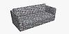 Декоративная ткань с мелким синим цветочным узором на белом Турция 84488v3, фото 9