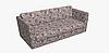 Декоративная ткань с мелким розовым цветочным узором на белом 180см 84486v1, фото 9
