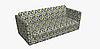 Декоративная ткань с желто-серой мозаикой Турция 84485v2, фото 9