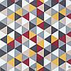 Декоративная ткань с серо-бежевой мозаикой 180см 84484v1, фото 2