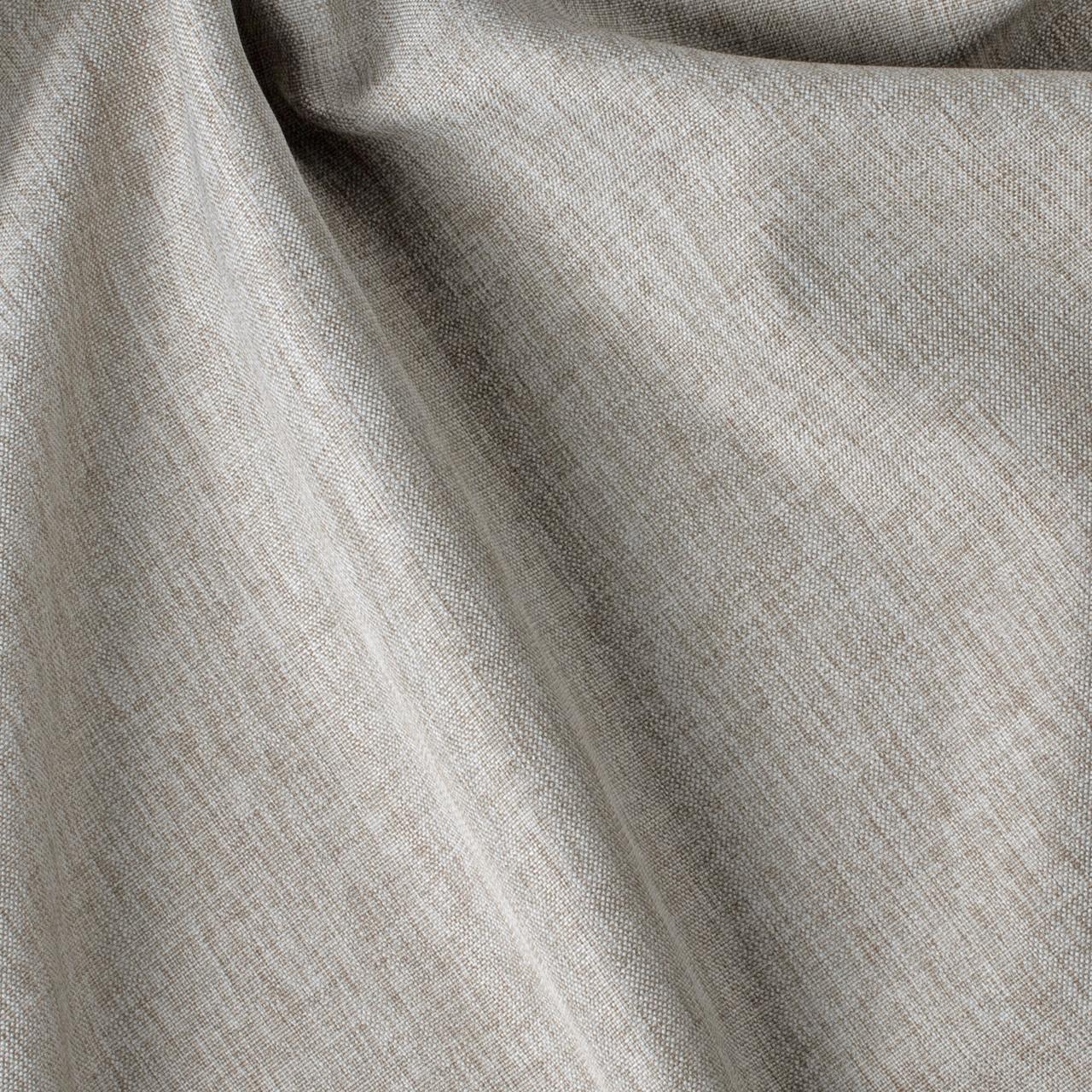 Декоративная однотонная рогожка серая для штор 84468v23