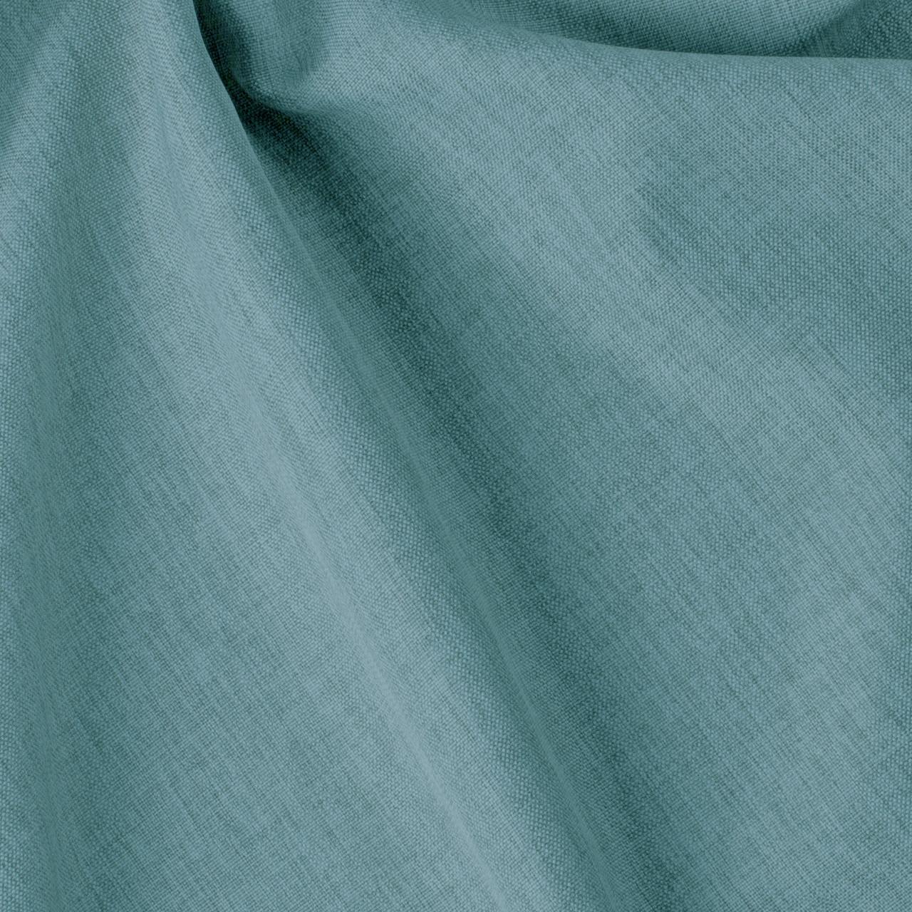 Декоративная однотонная ткань голубого цвета фактурная 84470v25