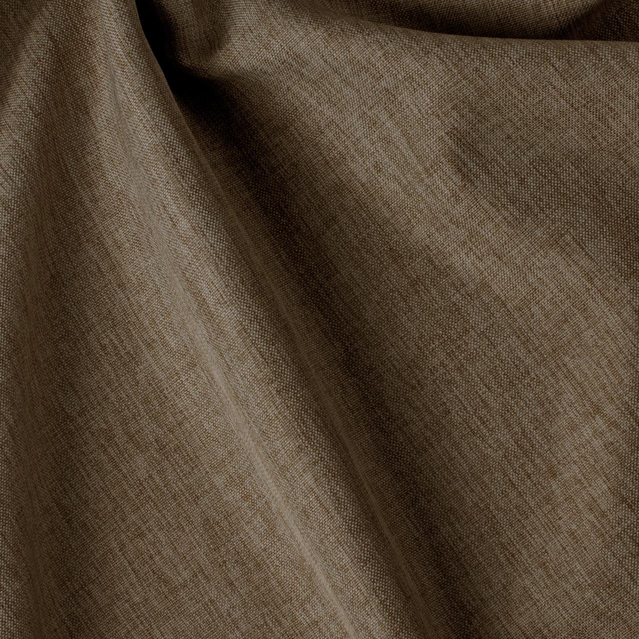 Декоративна однотонна тканина коричневого кольору Туреччина 84475v30