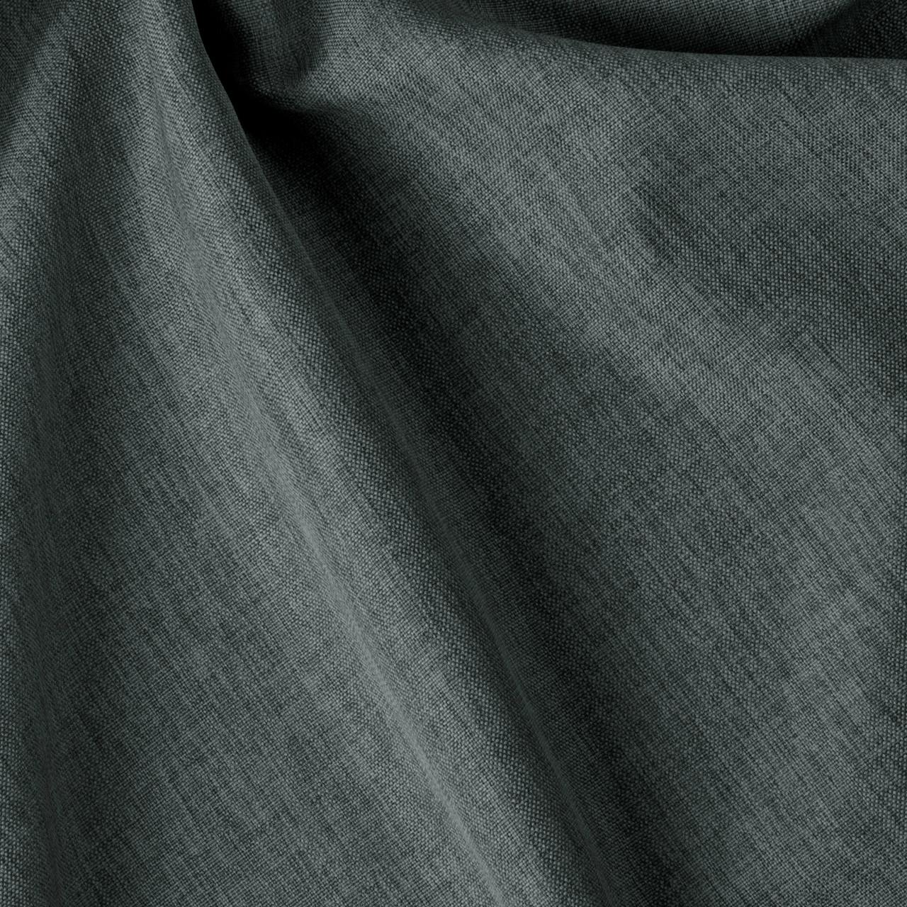 Декоративная однотонная ткань рогожка серого цвета Турция 84477v32