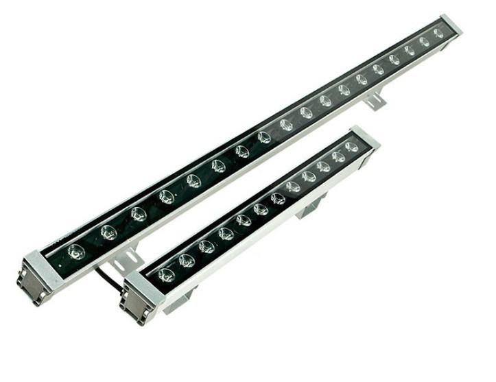 Линейный светильник 24W 1000мм RGBIP68  Wall washer Ecolend
