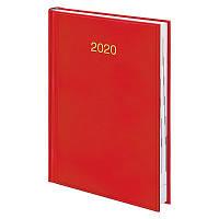 Ежедневник Brunnen в обложке Miradur красный цвет