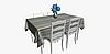 Декоративная ткань в разноцветную полоску для римской шторы 84302v1, фото 6