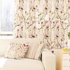 Декоративная ткань с разноцветными зигзагами на белом фоне для покрывала 84305v1, фото 2