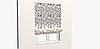 Декоративная ткань с крупными белыми попугаями на веточках 84304v1, фото 4