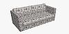 Декоративная ткань с крупными белыми попугаями на веточках 84304v1, фото 9