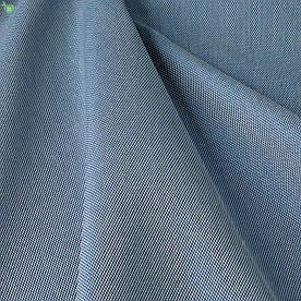 Вулична тканина з фактурою блакитного кольору для штор на відкриту терасу 84275v9