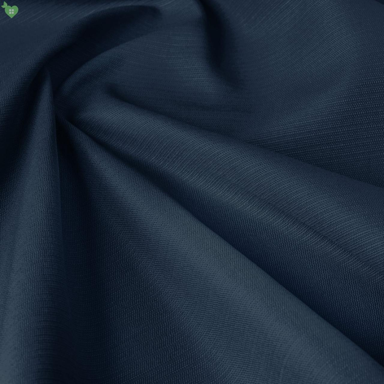 Уличная ткань фактурная синего цвета для беседки со шторками 84322v14