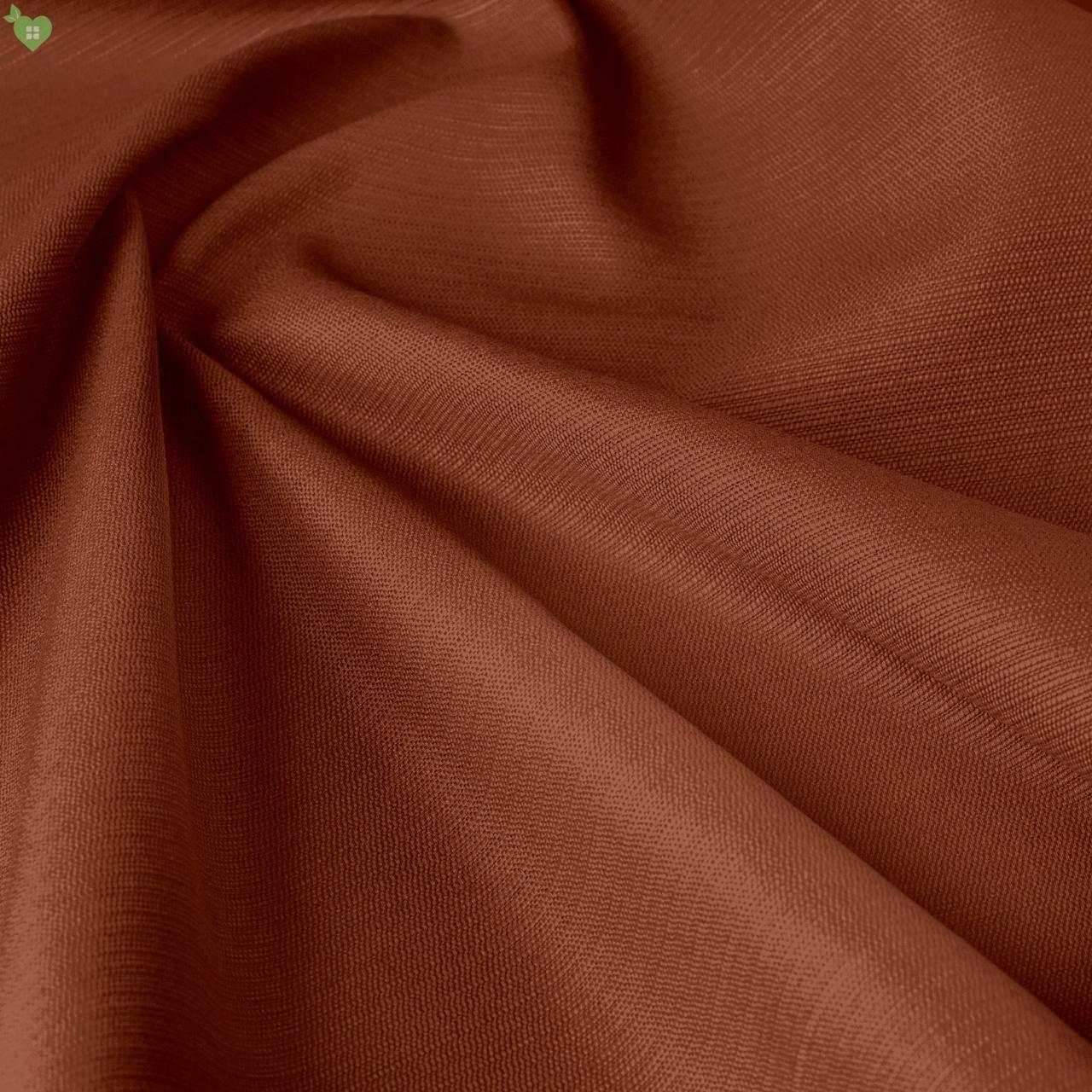 Уличная ткань фактурная коричневого цвета для летней веранды 84318v8