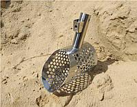 Пляжный совок мини скуп (скуб) для просеивания песка