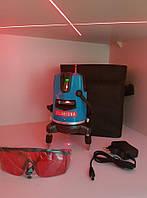Лазерный уровень ➭Clubiona 【СВЕРХЯРКИЙ】5 линий 6 точек ☝ Li-ion аккумулятор 0грн ☝