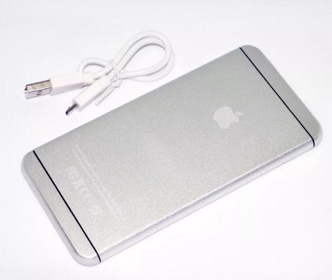 Внешний аккумулятор Power Bank iPhone 16000 mAh серый | Power bank | зарядное устройство | павербанк