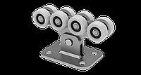 Фурнитура для откатных ворот Roll Grand на 400 кг, полимерные ролики
