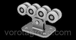 Фурнітура для відкатних воріт Roll Grand на 400 кг, полімерні ролики
