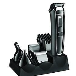 Машинка для стрижки с насадками Gemei GM-801 5 в 1   мультитриммер   триммер для бровей   триммер для носа
