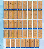 Мдф накладки 12мм квартирная пленка