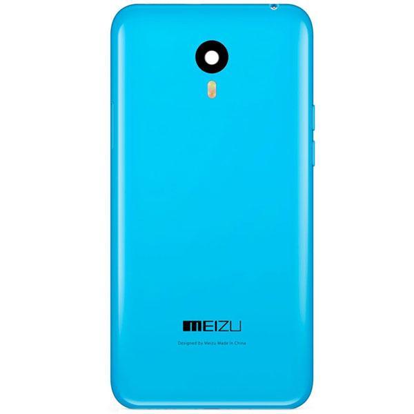 Задняя крышка Meizu M1 Note, синяя, Оригинал
