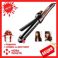 Плойка для завивки волос с регулируемым диаметром Kemei JB-KM-8850 | стайлер щипцы для завивки волос