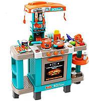 Кухня детская игровая интерактивная с микроволновкой, кофемашиной, тостером (свет, звук) 78х29х87 см (008-938), фото 2