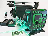 Зеленый Луч !  ПРЕМИУМ Нивелир 3d MAOVON Green