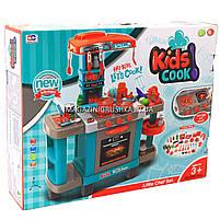 Кухня детская игровая интерактивная с микроволновкой, кофемашиной, тостером (свет, звук) 78х29х87 см (008-938), фото 3