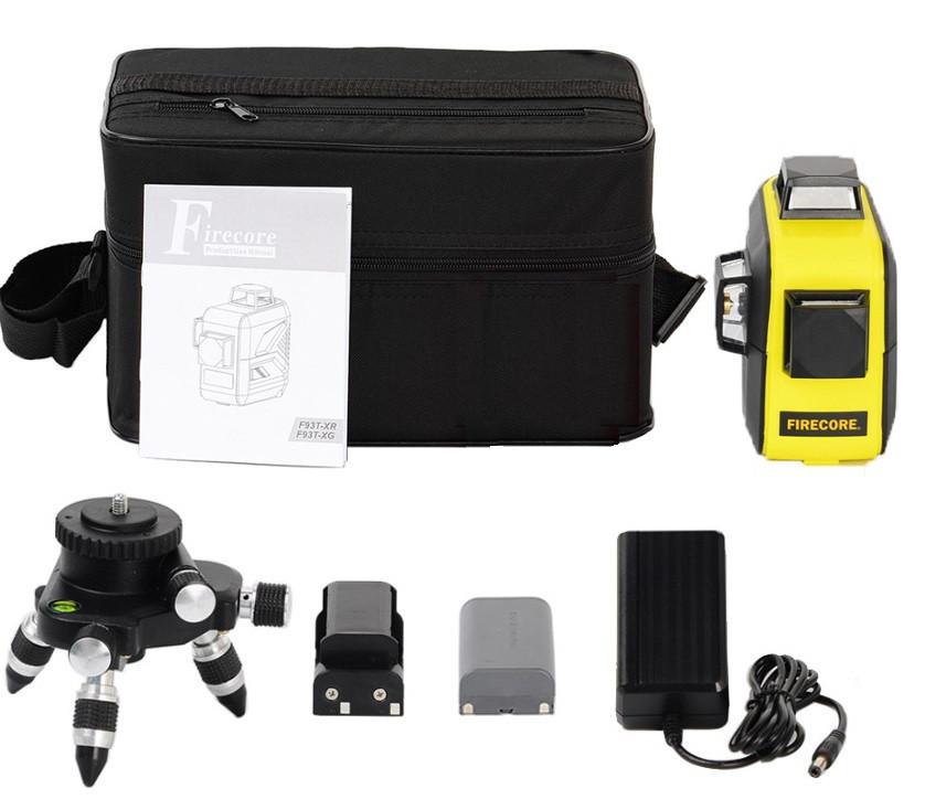 Лазерный уровень Firecore F93T XR ➤⏏аналог Bosch GLL 3-80⏏➤3 режима работы