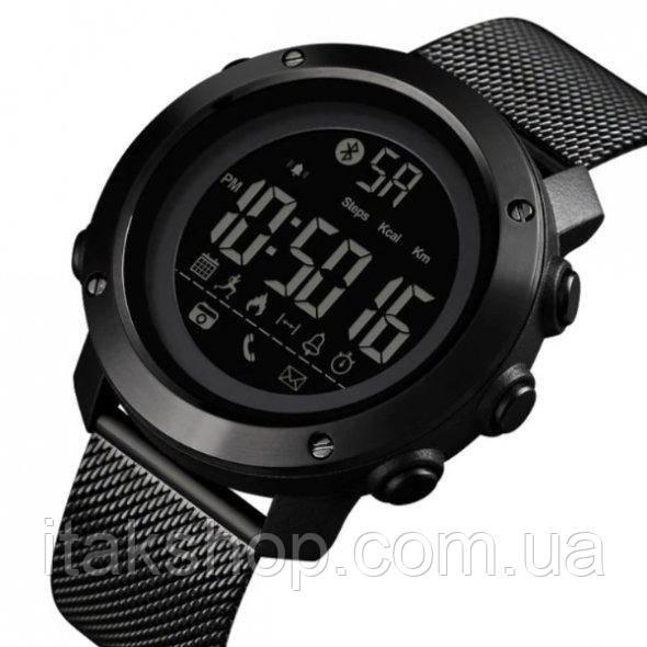 Мужские наручные часы Skmei Revolution Black