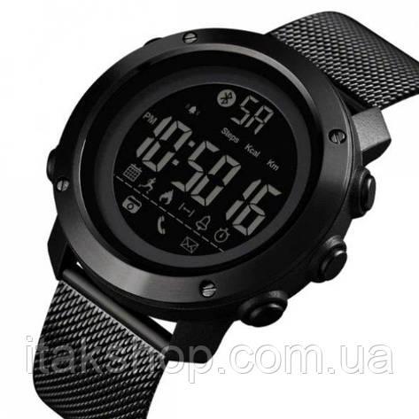 Мужские наручные часы Skmei Revolution Black, фото 2